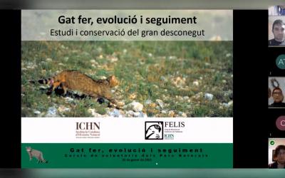 FELIS-ICHN al cicle de xerrades del Cercle de Voluntaris dels Parcs Naturals